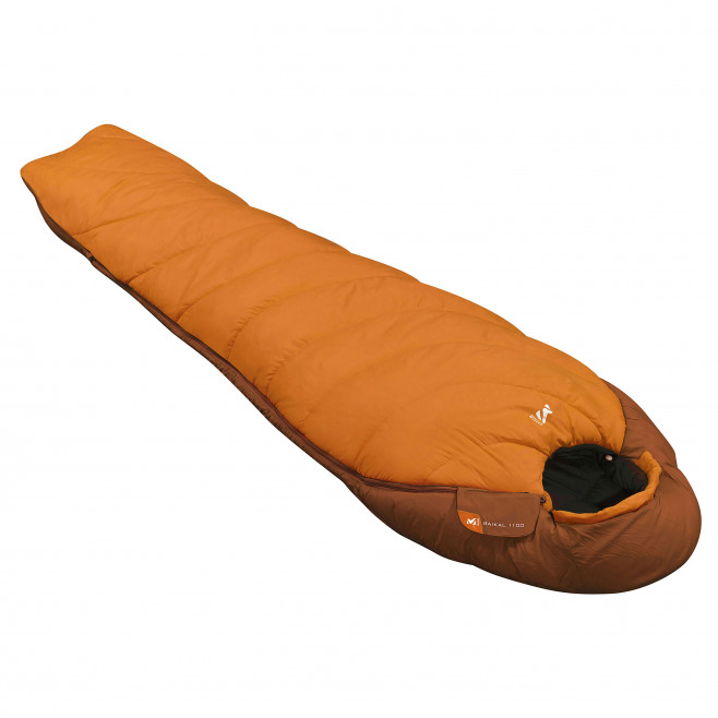 Schlafsack - orange BAIKAL 1100 LONG Millet