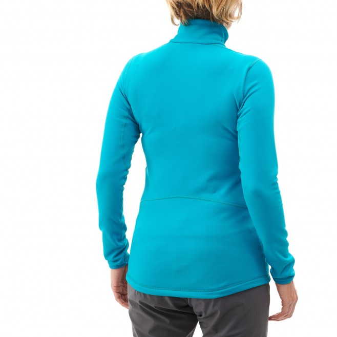 Microfleece für Damen - Ski - Lila LD TECH STRETCH TOP Millet 2