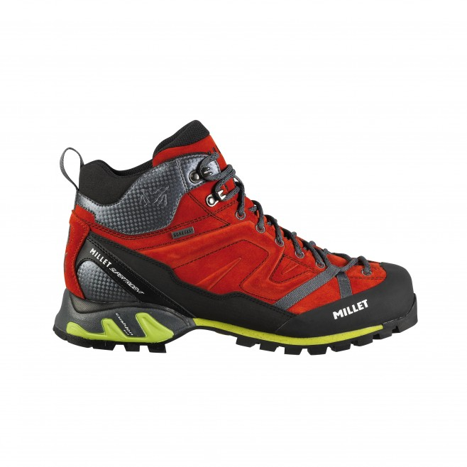Gore-tex shoes - approach - red SUPER TRIDENT GTX Millet