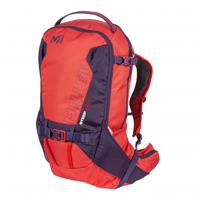 Women's backpack - ski - pink STEEP 22 LD Millet