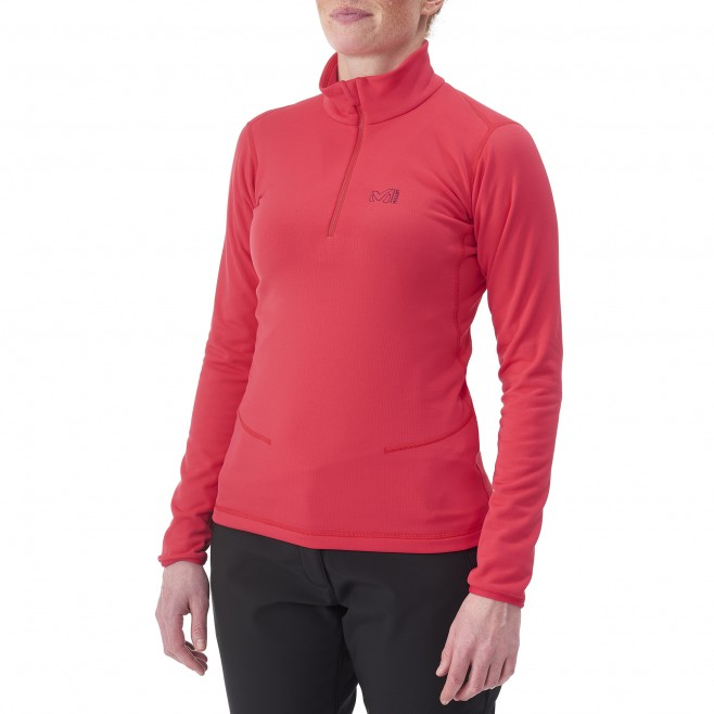 Trekking - Fleecejacke - Für Damen - Türkis LD TECH STRETCH TOP Millet 2