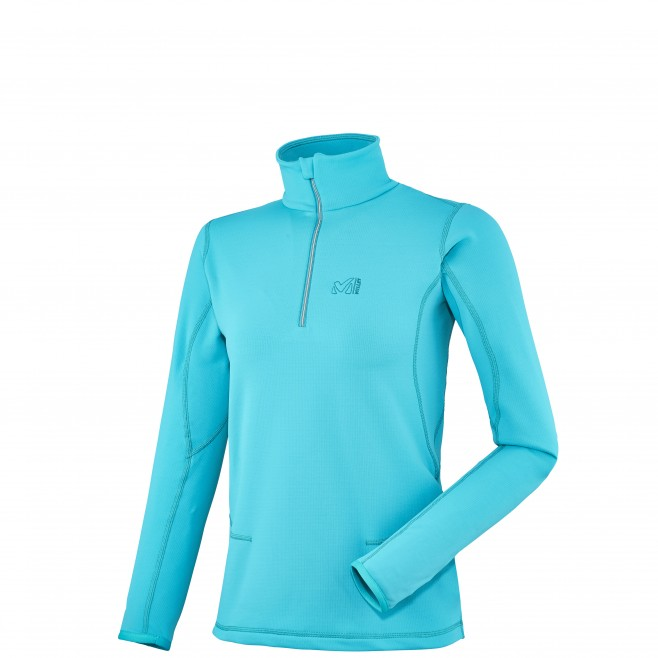 Trekking - Fleecejacke - Für Damen - Türkis LD TECH STRETCH TOP Millet