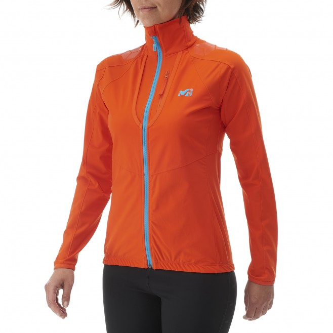 Ski Touring - Fleecejacke - Für Damen - Orange LD TOURING INTENSE JKT Millet 4
