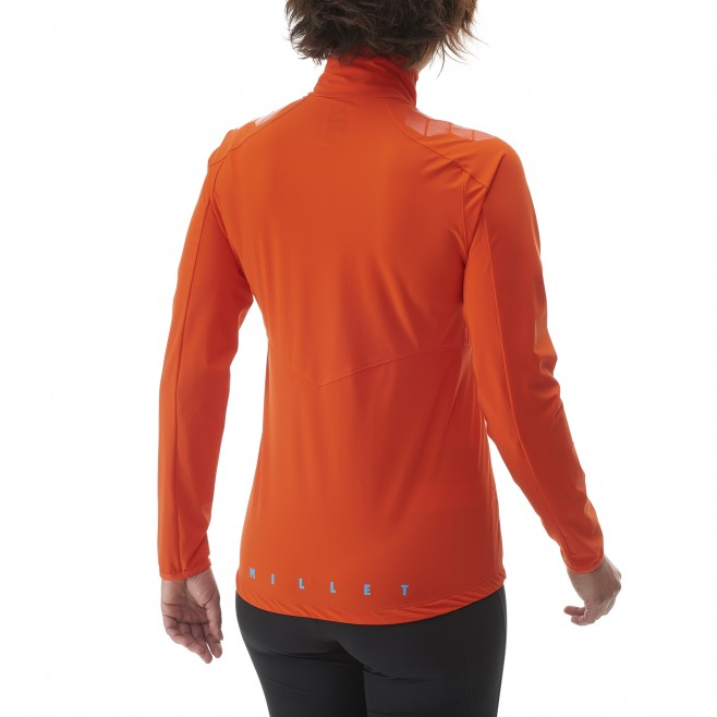 Ski Touring - Fleecejacke - Für Damen - Orange LD TOURING INTENSE JKT Millet 5