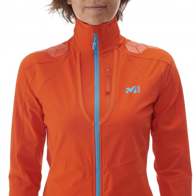 Ski Touring - Fleecejacke - Für Damen - Orange LD TOURING INTENSE JKT Millet 6