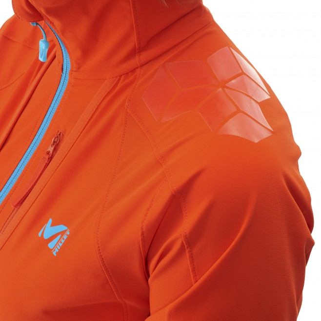 Ski Touring - Fleecejacke - Für Damen - Orange LD TOURING INTENSE JKT Millet 7