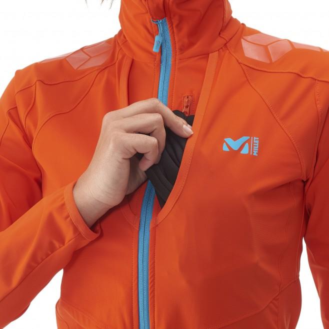 Ski Touring - Fleecejacke - Für Damen - Orange LD TOURING INTENSE JKT Millet 8