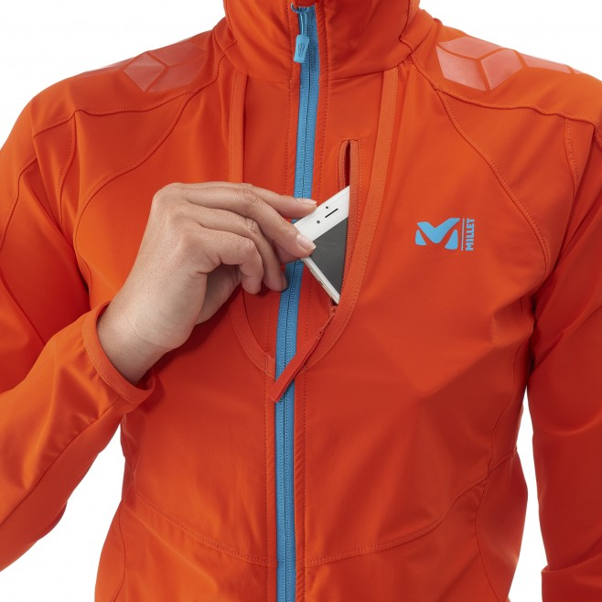 Ski Touring - Fleecejacke - Für Damen - Orange LD TOURING INTENSE JKT Millet 2