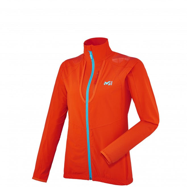 Ski Touring - Fleecejacke - Für Damen - Orange LD TOURING INTENSE JKT Millet