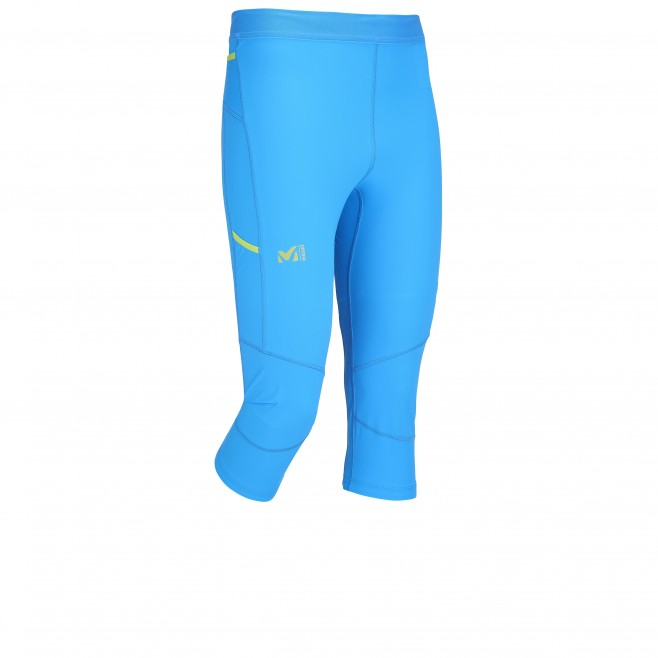 3/4 Hose für Herren - Blau - Zum trail running LTK INTENSE 3/4 TIGHT Millet