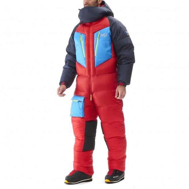 Daunenanzug für herren - Expedition - rot MXP TRILOGY DOWN SUIT Millet 2