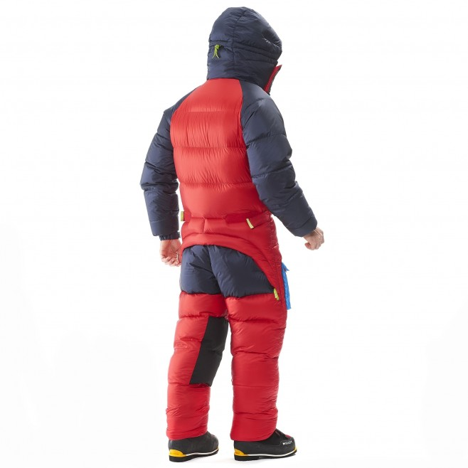 Daunenanzug für herren - Expedition - rot MXP TRILOGY DOWN SUIT Millet 3