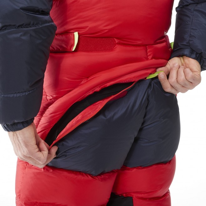 Daunenanzug für herren - Expedition - rot MXP TRILOGY DOWN SUIT Millet 5