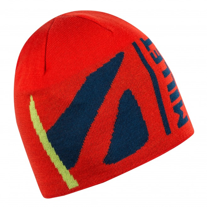 Mütze für Herren - Ski Touring - Orange M WHITE WOOL BEANIE Millet