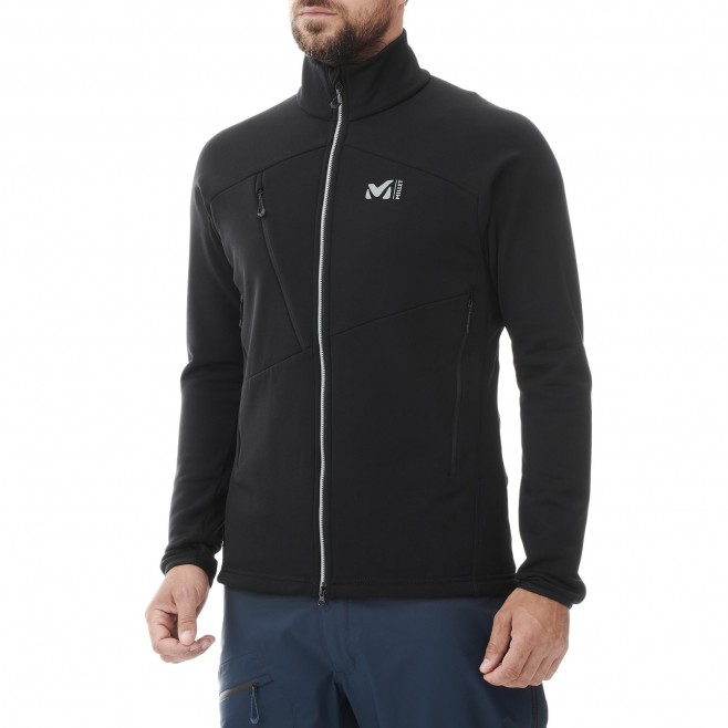 Fleecejacke für Herren - schwarz ELEVATION POWER JKT M Millet 2