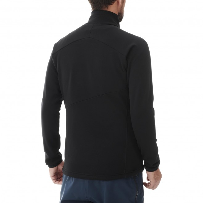 Fleecejacke für Herren - schwarz ELEVATION POWER JKT M Millet 3