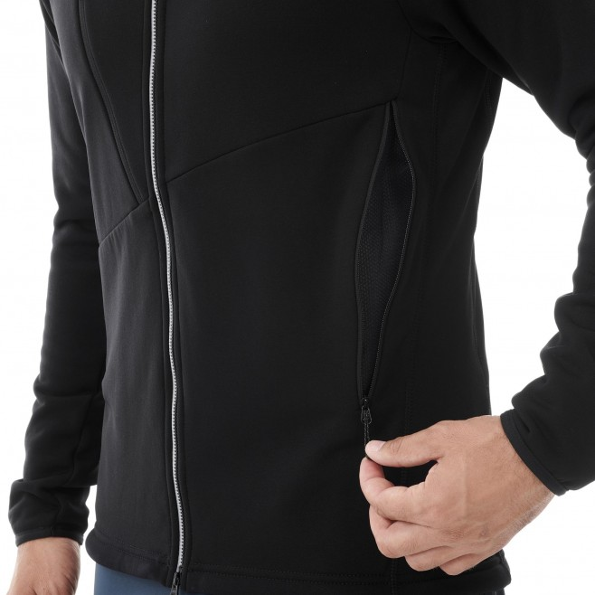 Fleecejacke für Herren - schwarz ELEVATION POWER JKT M Millet 4