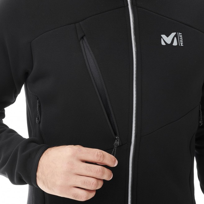 Fleecejacke für Herren - schwarz ELEVATION POWER JKT M Millet 5