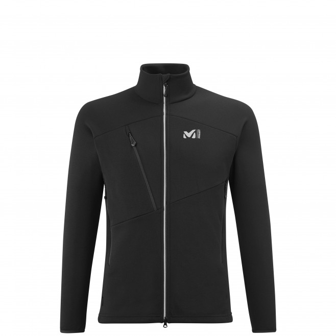 Fleecejacke für Herren - schwarz ELEVATION POWER JKT M Millet