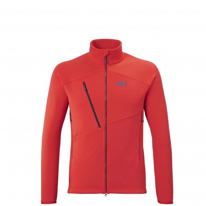 Fleecejacke für Herren - rot ELEVATION POWER JKT M Millet