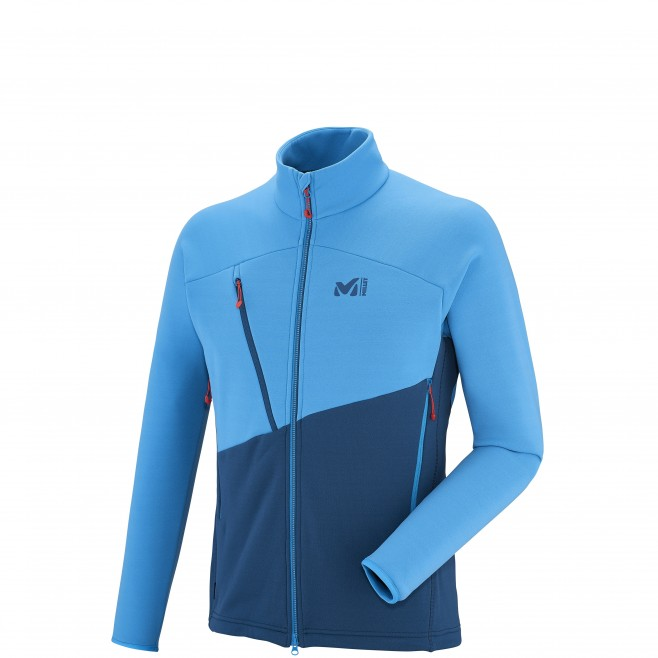 Fleecejacke für Herren - Approach - Marineblau ELEVATION POWER JKT Millet