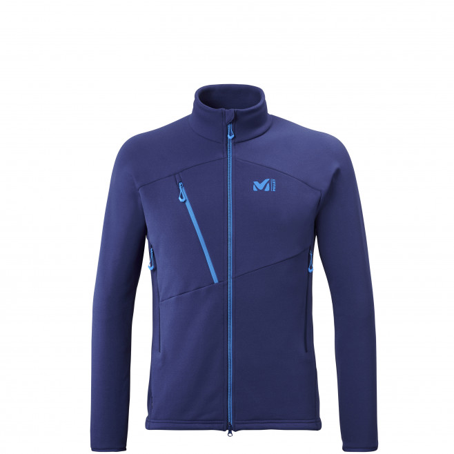 sehr warme Jacke für Herren - blau ELEVATION POWER JKT M Millet