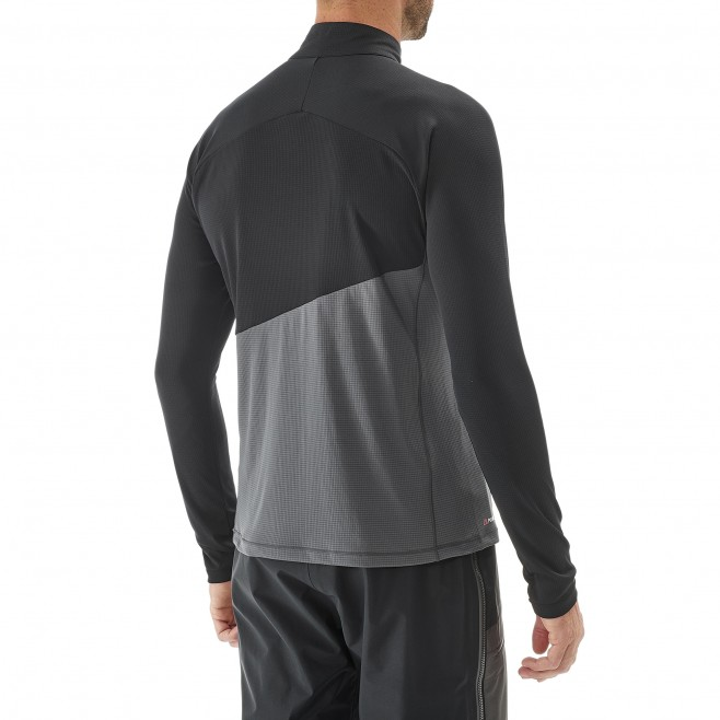 Tee-shirt für Herren - grau ELEVATION ZIP LS M  Millet 3