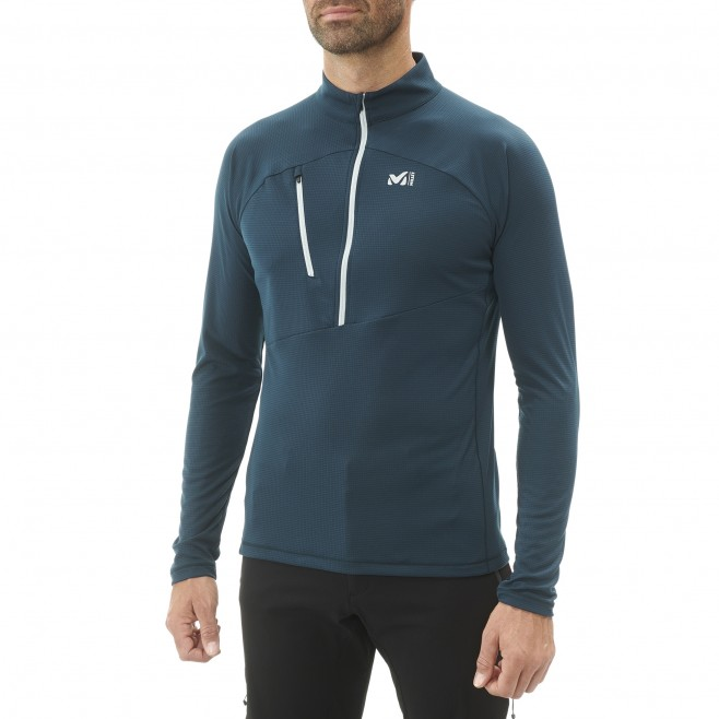 Tee-shirt für Herren - marineblau ELEVATION ZIP LS M  Millet 2