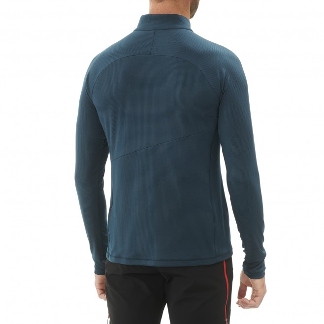 Tee-shirt für Herren - marineblau ELEVATION ZIP LS M  Millet 3