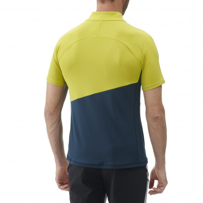 Tee-shirt für Herren - blau ELEVATION ZIP SS M  Millet 3