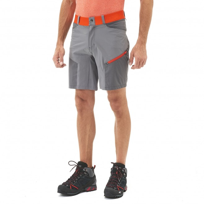 Short für Herren - grau ONEGA STRETCH SHORT M  Millet 2