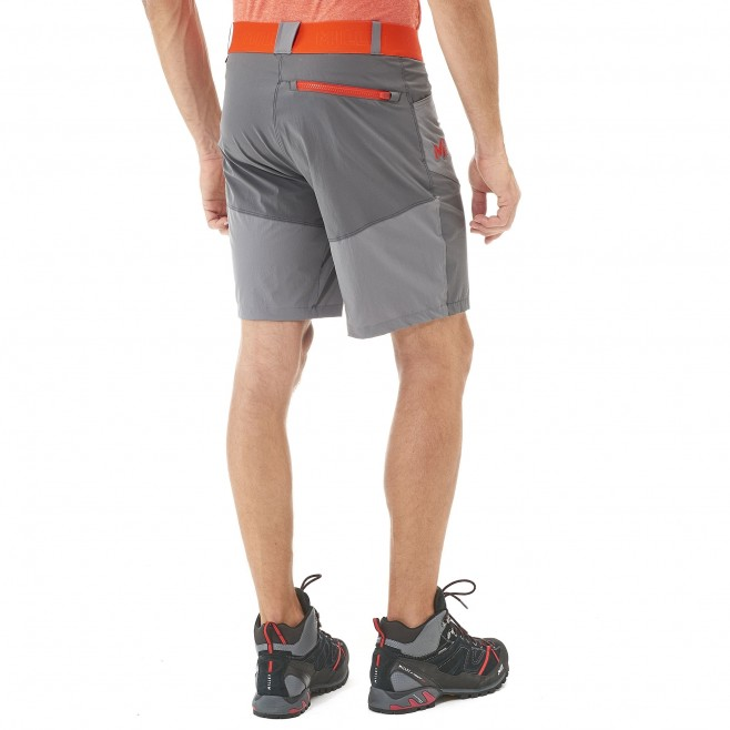 Short für Herren - grau ONEGA STRETCH SHORT M  Millet 3