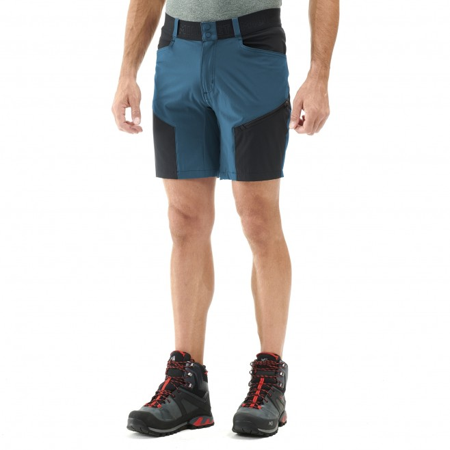 Short für Herren - marineblau ONEGA STRETCH SHORT M  Millet 2