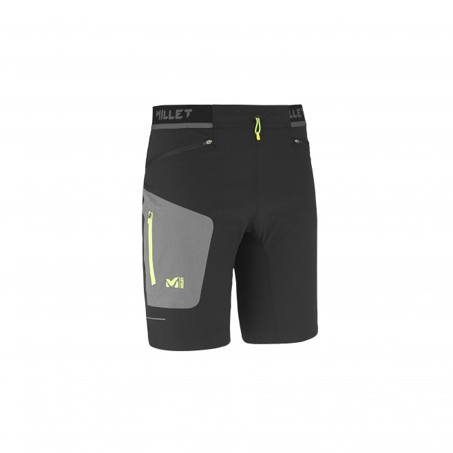 Trail Running - short - Für Herren - Schwarz LTK SPEED LONG SHORT Millet