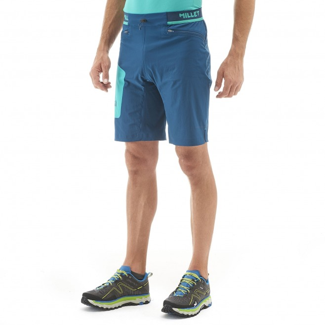 Trail Running - short - Für Herren - Marineblau LTK SPEED LONG SHORT Millet 2