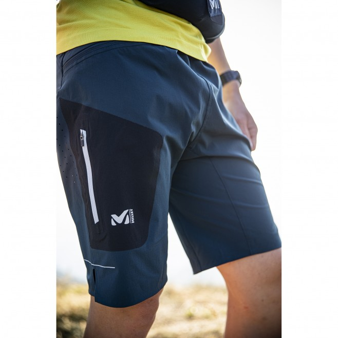 Short für Herren - marineblau LTK SPEED LONG SHORT M  Millet 2