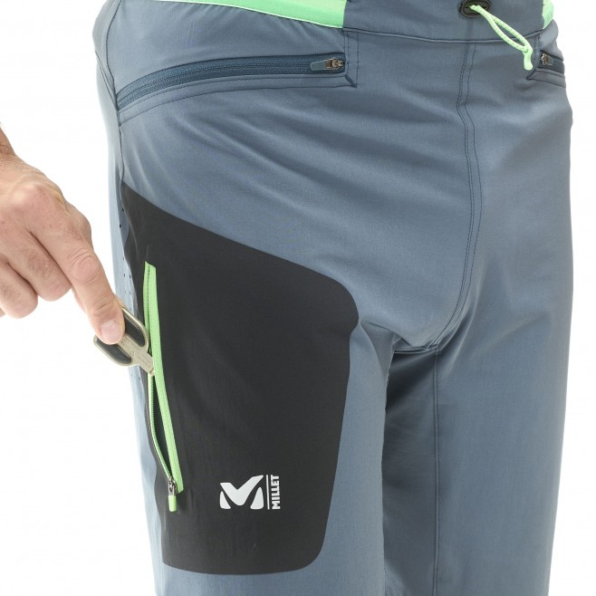 Bermudashort für herren - trailrunning - marineblau LTK SPEED LONG SHORT Millet 6