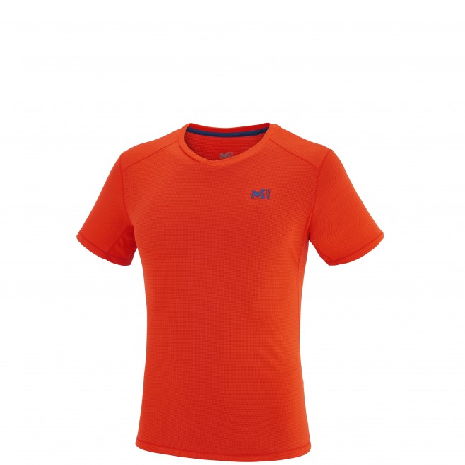 Alpinklettern - T-shirt - Für Herren - Orange ROC BASE TS SS Millet