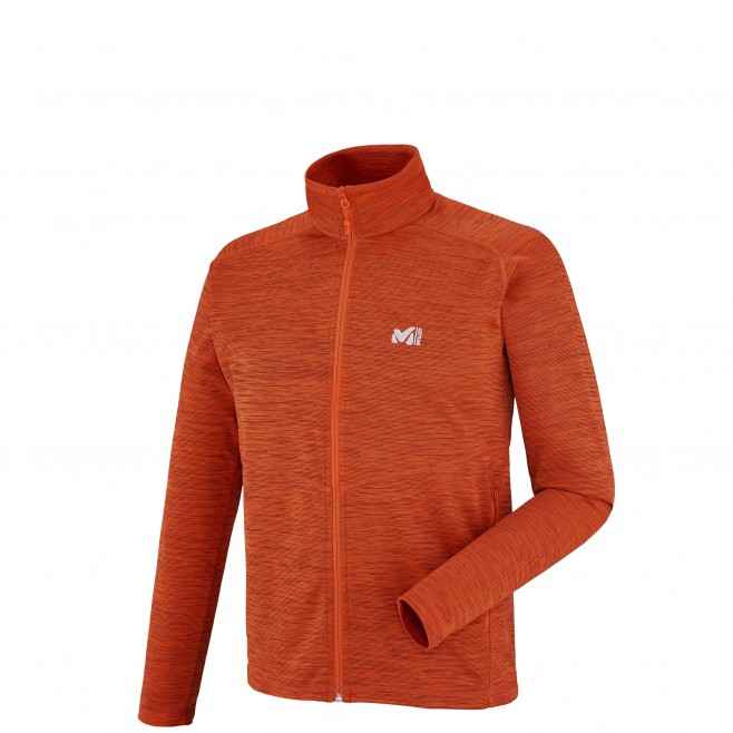 Trekking - Fleecejacke - Für Herren - Orange TWEEDY MOUNTAIN JKT Millet