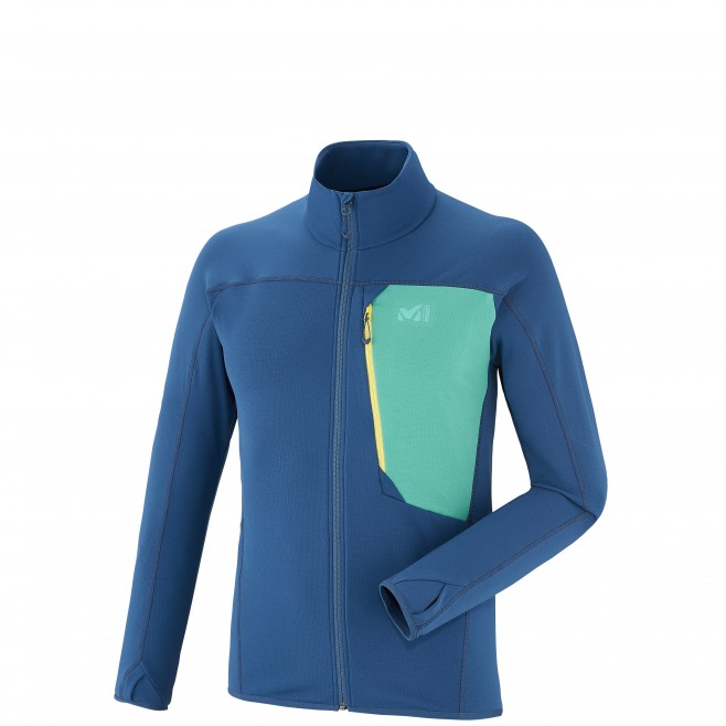 Trail Running - Fleecejacke - Für Herren - Marineblau LTK THERMAL JKT Millet