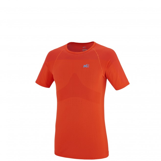 Trail Running - T-shirt - Für Herren - Orange LTK SEAMLESS TS SS Millet