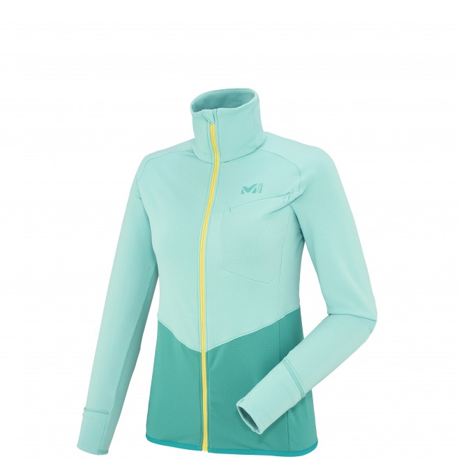 Trail Running - Fleecejacke - Für Damen - Grün LD LTK THERMAL JKT Millet