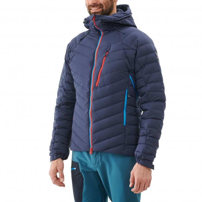 Daunenjacke für Herren - Alpinklettern - Marineblau TRILOGY SYNTH'X STRETCH DOWN JKT Millet 2
