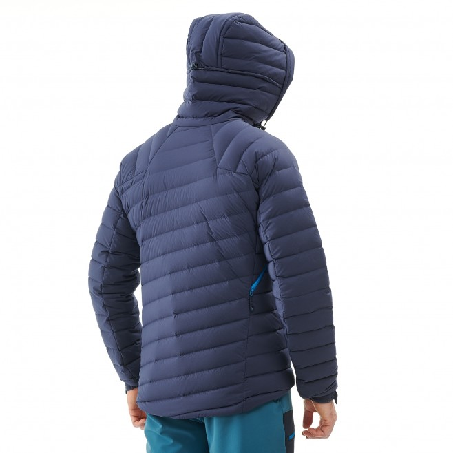 Daunenjacke für Herren - Alpinklettern - Marineblau TRILOGY SYNTH'X STRETCH DOWN JKT Millet 3
