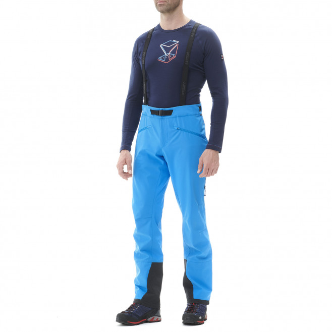 Winddichte Hose für Herren - marineblau NEEDLES SHIELD PANT M Millet 2