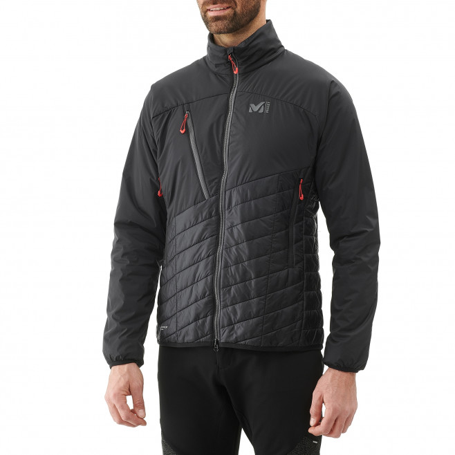 Warme Jacke für Herren - Approach - Orange ELEVATION AIRLOFT JKT Millet 2