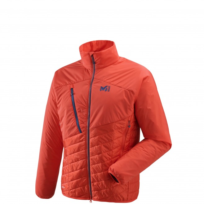 Warme Jacke für Herren - Approach - Orange ELEVATION AIRLOFT JKT Millet
