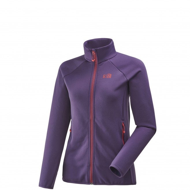 Fleecejacke für Damen - Approach - Lila LD CHARMOZ POWER JKT Millet