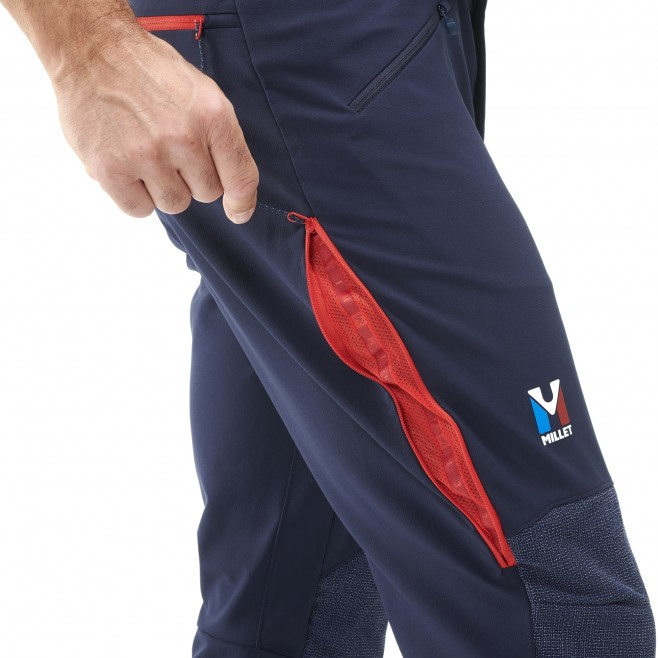 Winddichte hose für Herren - marineblau TRILOGY ADVANCED PRO PANT M  Millet 5