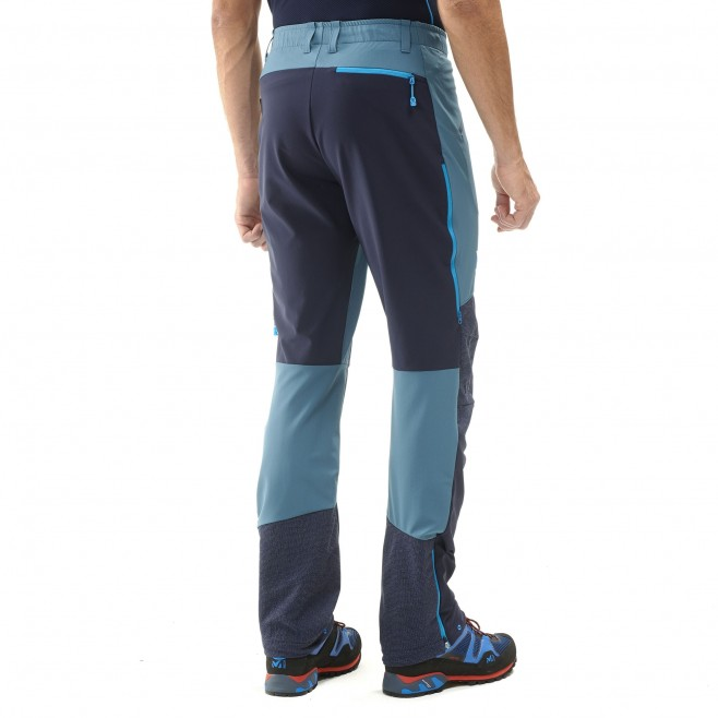 Winddichte Hose für herren - alpinklettern - marineblau TRILOGY ADVANCED PRO PANT Millet 3